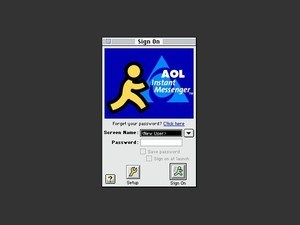 AIM: texting before it was cool.